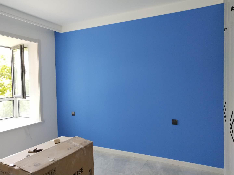天津鹤立装修——总要给家里留一面带颜色的墙