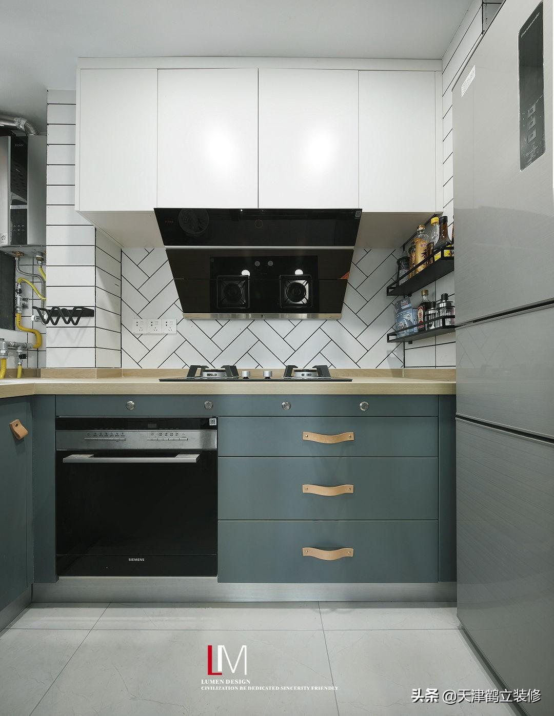 天津鹤立装修——厨房装修中的12个细节,早点知道就好了!